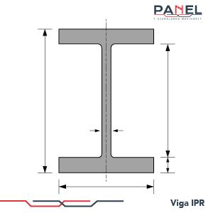 Esquema estructura Viga IPR