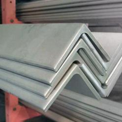 ángulo de acero con lados iguales
