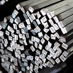 Los macizos cuadrados se pueden usar en productos forjados