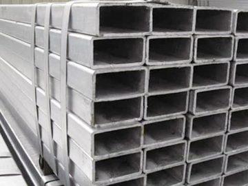 Perfil de acero HSS rectangular