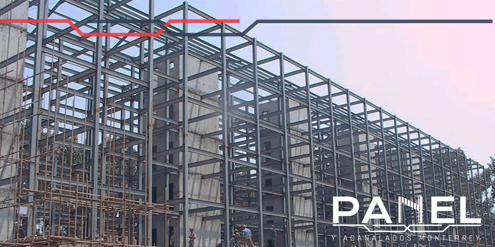Construcción construida a base de acero estructural